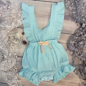 Other - Boutique Baby Girls Ruffle Romper